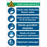 Multi-Symbol Warning Signs (German Imprint), PP  BRADY